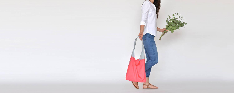 24-7 reusable shopping bag - foldable