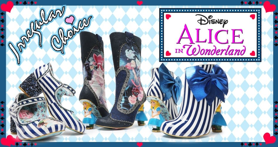 Alice in Wonderland Collection by Irregular Choice | TIltedsole.com