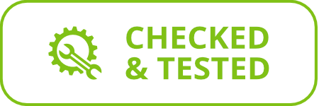 Checked & Tested By Our Technicians