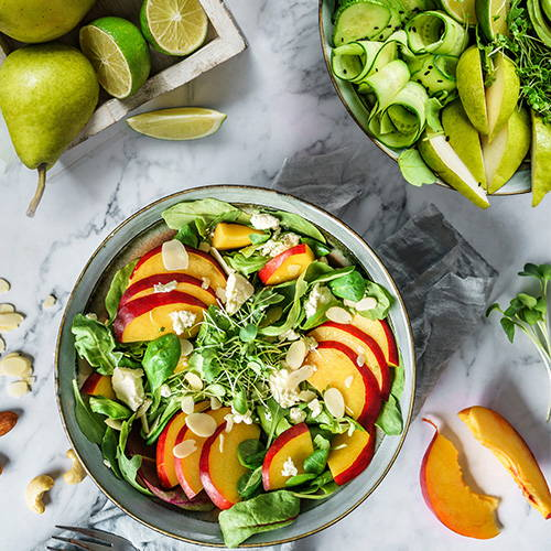 Top 10 Lebensmittel im Sommer