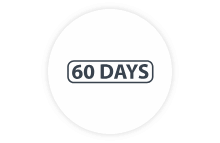 60 day return policy badge