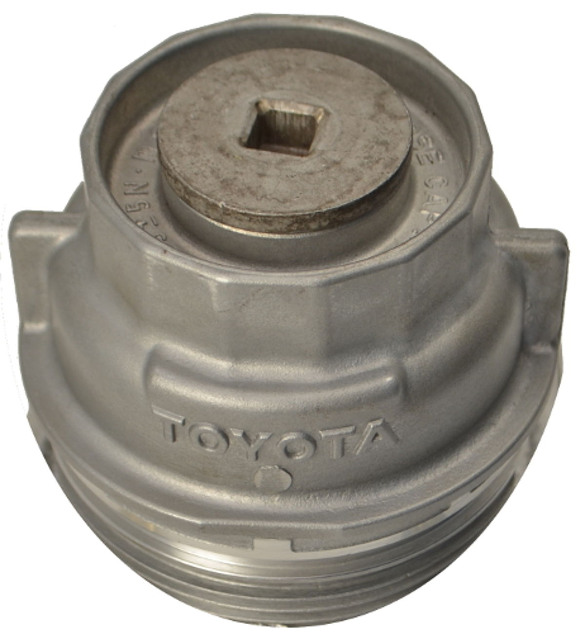 Aluminum Toyota Oil Filter Housing