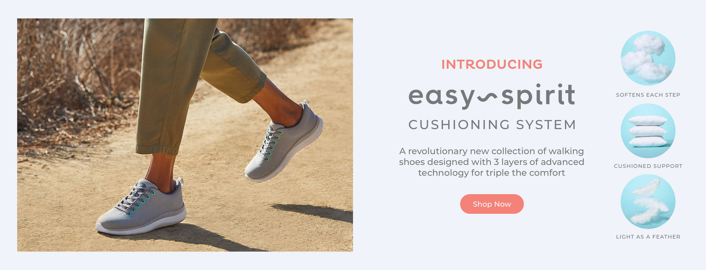 Easy Spirit Cushioning System