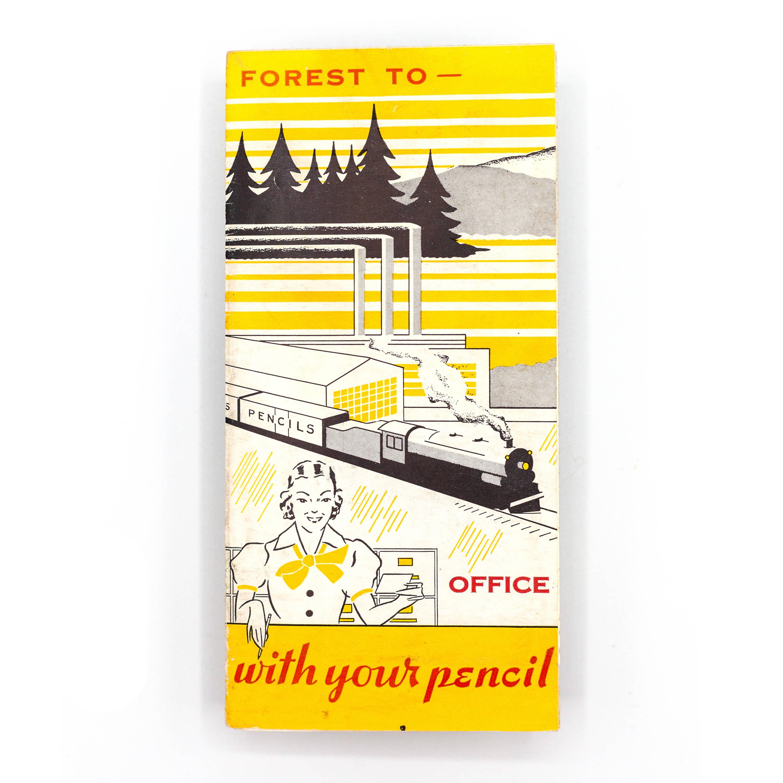 Vintage Pencil Brochure - Cover
