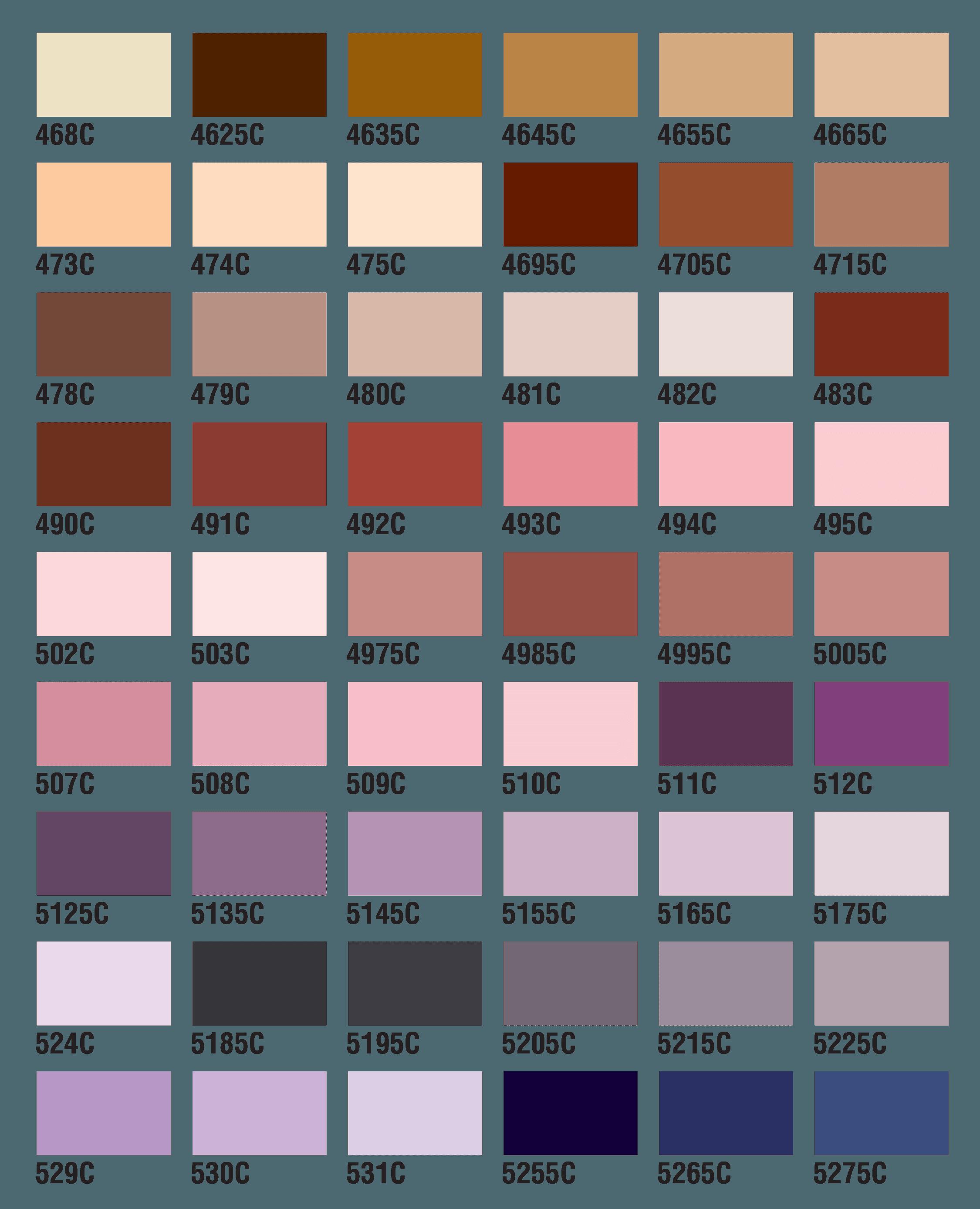 PMS Colors 12