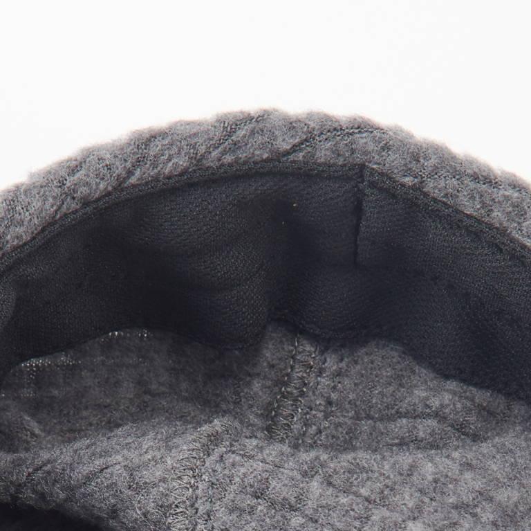 RIDGE MOUNTAIN GEAR(リッジマウンテンギア)/グリッドメリノ イヤマフキャップ/ブラック/UNISEX