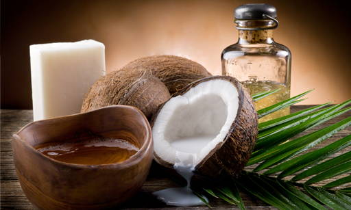 Coconut Oil  It is a highly pure mineral and does not require enriching processes