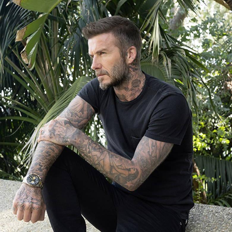 David Beckham Tudor Timepiece