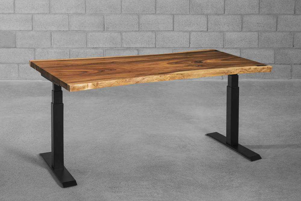 Suar sit-stand desk - walnut - ergonofis