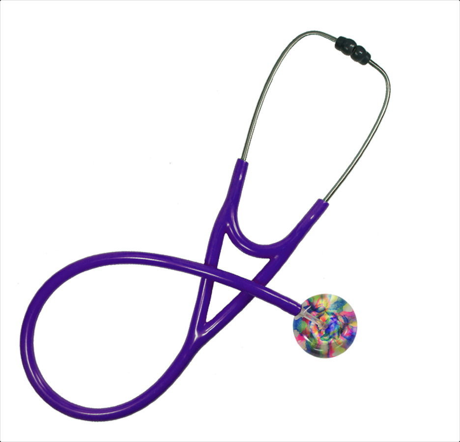 purple customizable stethoscopes
