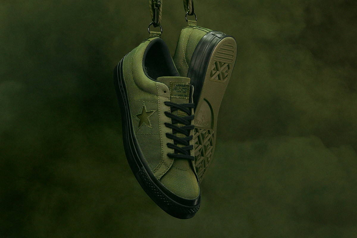 c3187460f54c98 Converse x Carhartt WIP One Star Collection