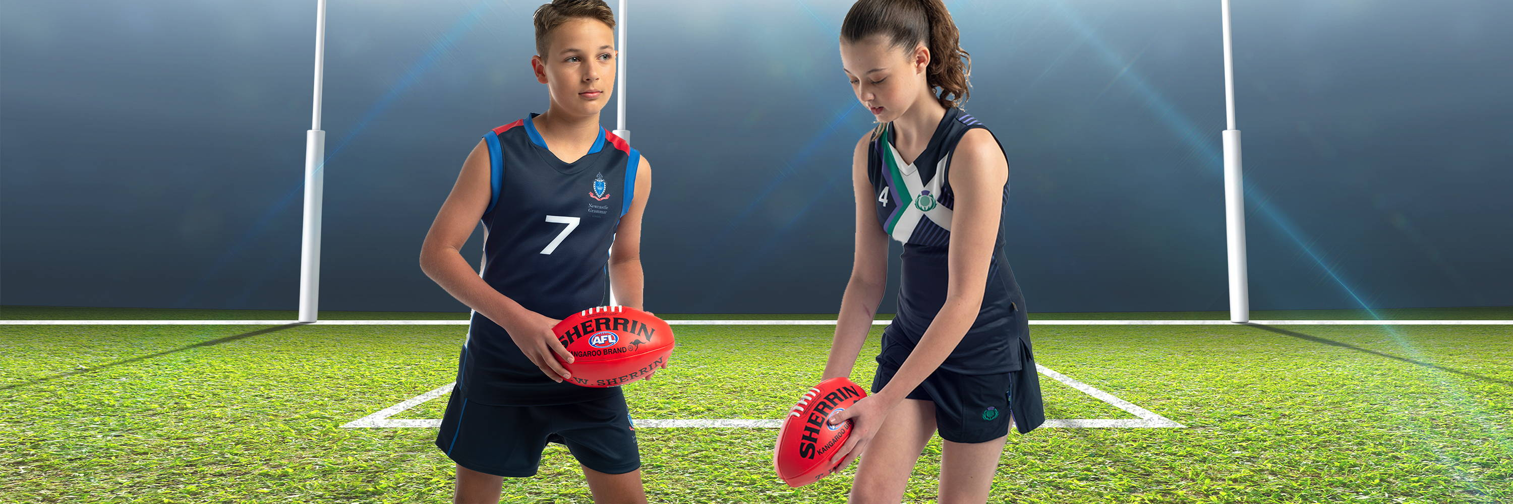 Valour Sport produce premium sublimated AFL football gear designed exclusively for your team
