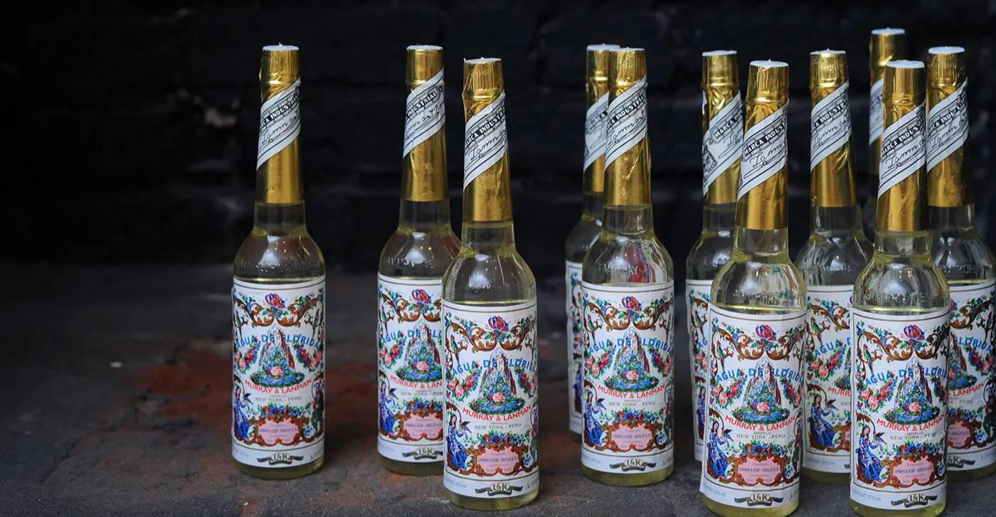 Murray & Lanman Agua de Florida bottles
