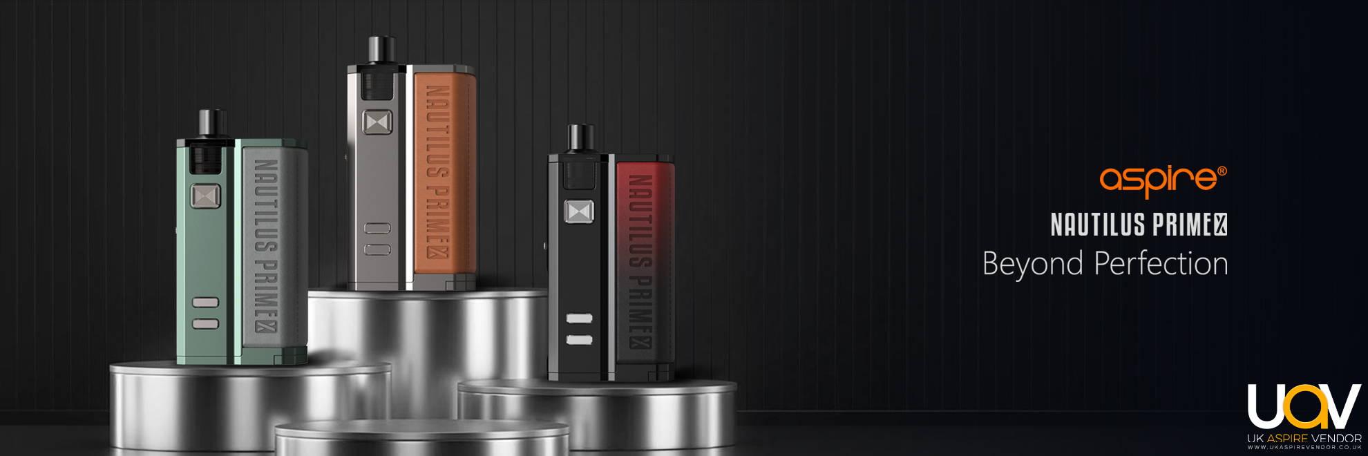 Nautilus Prime X | Aspire Pod Devices | Buy Aspire Vape Pods Online
