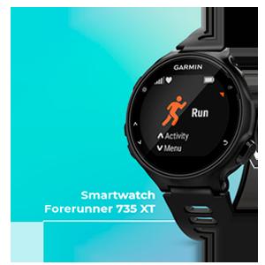 GARMIN Smartwatch para Triatlón Forerunner 735XT, Norteamérica