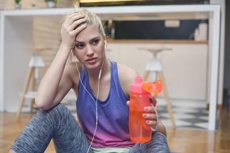 Für einige ein Problem: Müdigkeit nach dem Sport