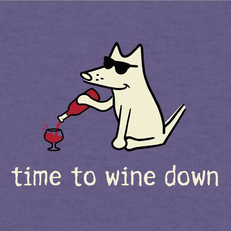 Shop teddy the dog time to wine down