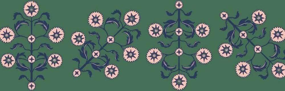 Tempaper Block Print Wallpaper