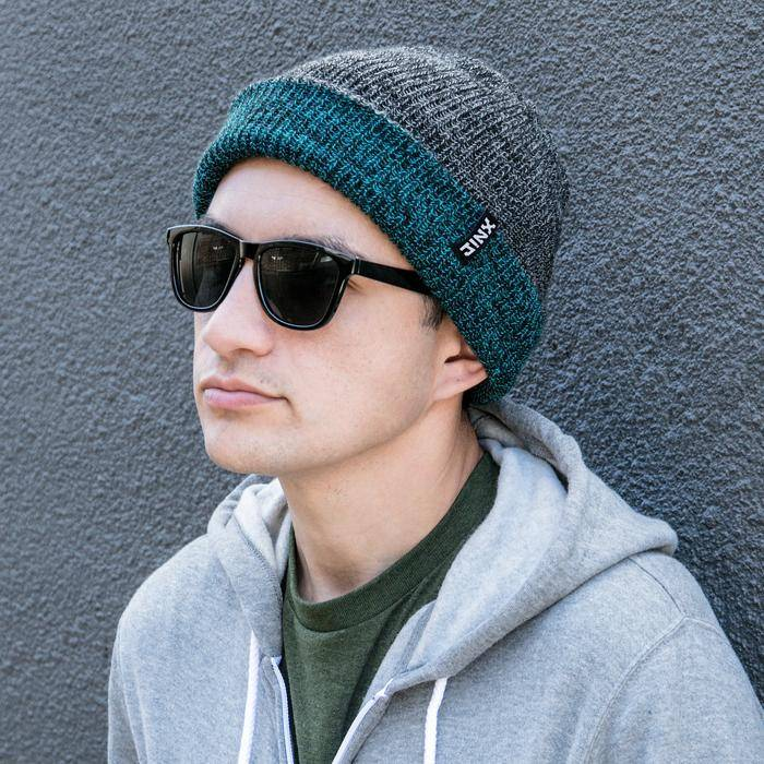 Photo of a model wearing a JINX Respawn Beanie
