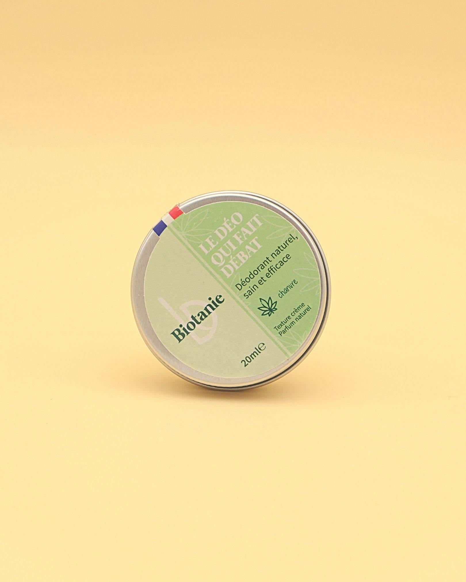 Déodorant crème - Parfum naturel