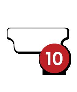 10 Tabs/Set