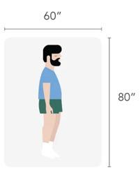 Queen size mattress dimensions - 60