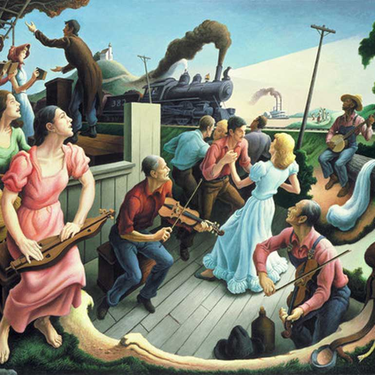 Thomas Hart Benton Art