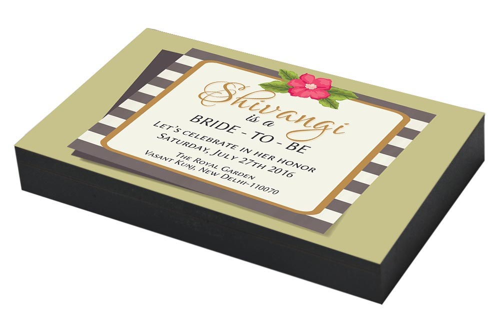 Blooming Bachelorette party Invitation