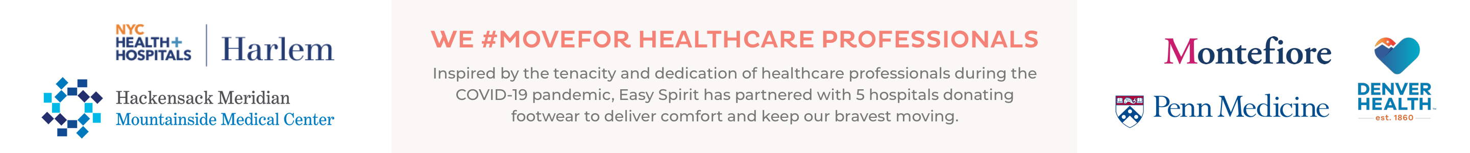 We #MOVEFOR Healthcare Professionals