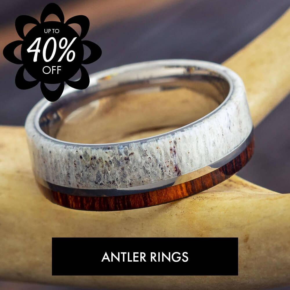 Antler Rings