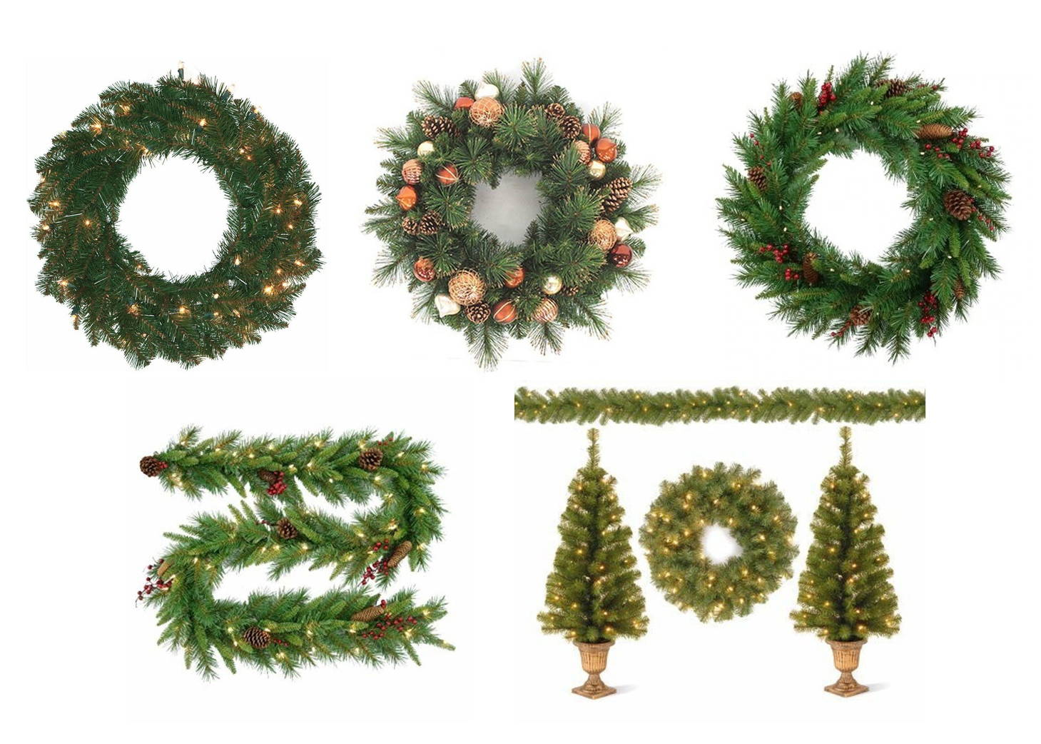 Shop Wreaths Garland and Swag