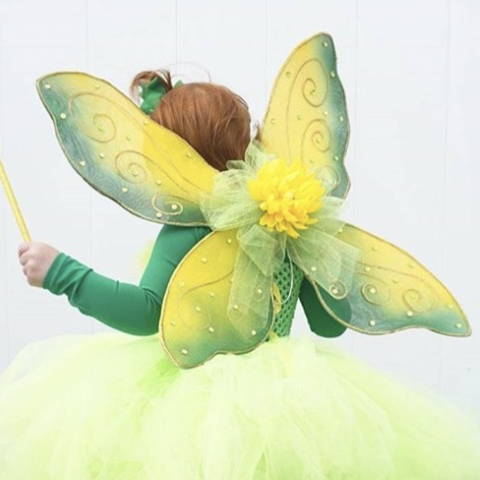 Green fairy Halloween costume