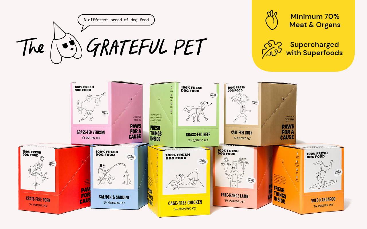 the grateful pet fresh frozen food online pet shop singapore pawpy kisses.