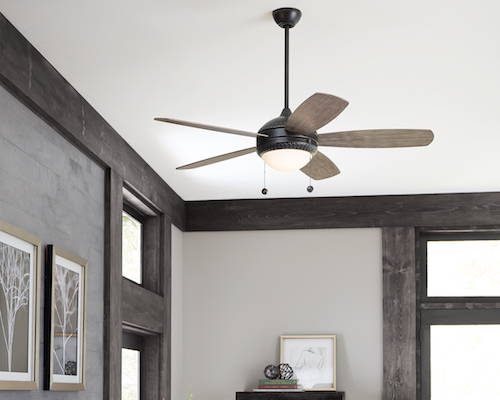 Monte Carlo Discus Indoor/Outdoor Ceiling Fan