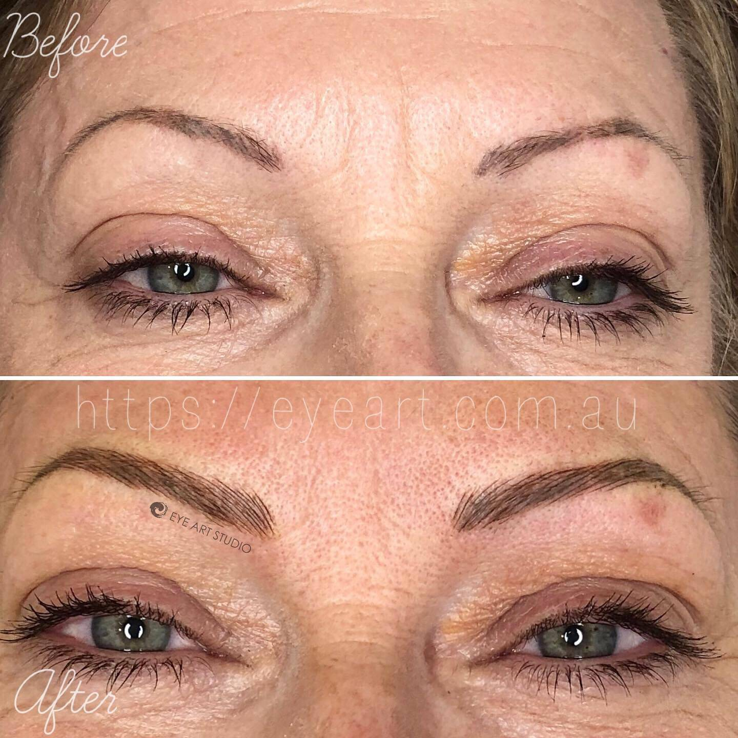 Eyebrow Tattoo Repair