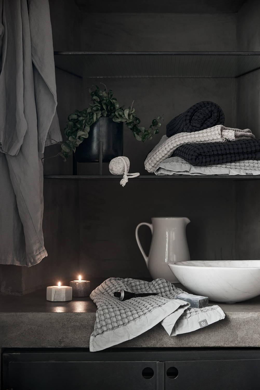Home-Spa Wabi Sabi Handtücher Waffelpiqué