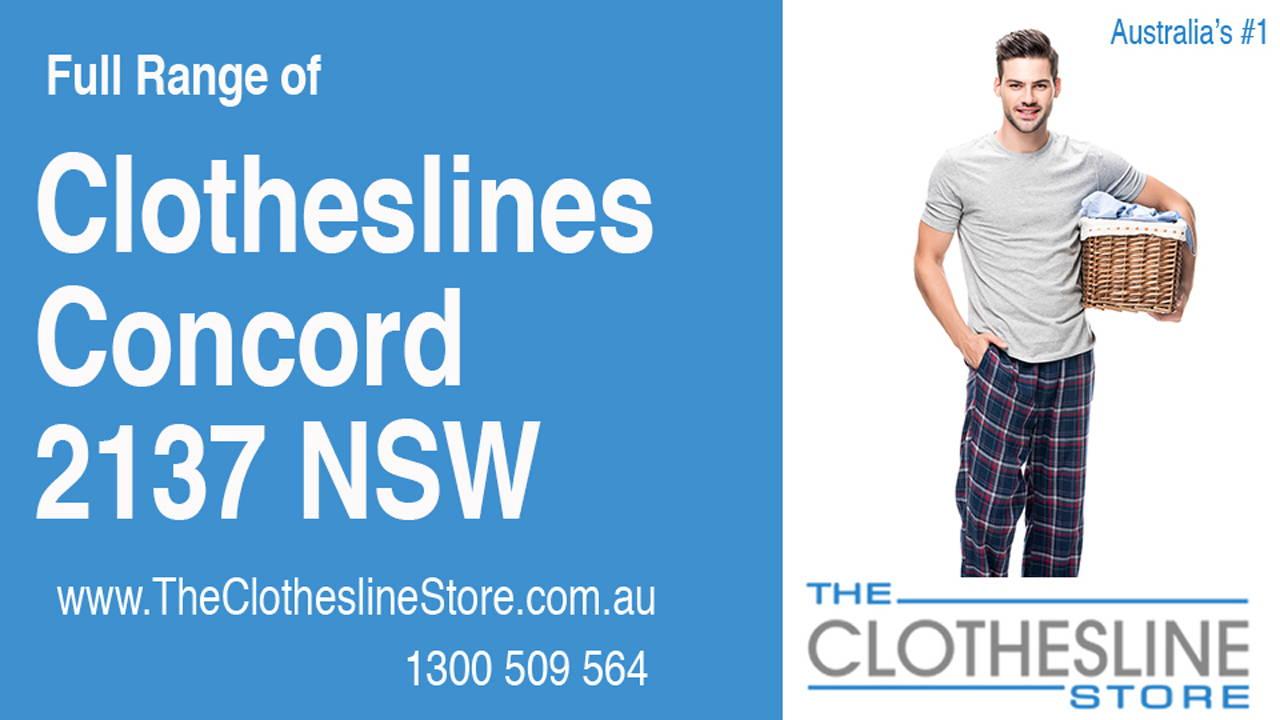 Clotheslines Concord 2137 NSW