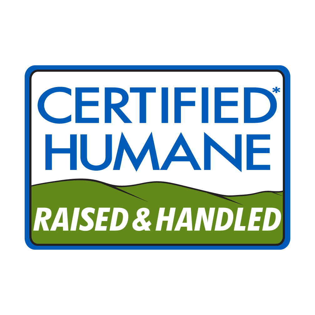 FROM 100% CERTIFIED HUMANE® FARMS