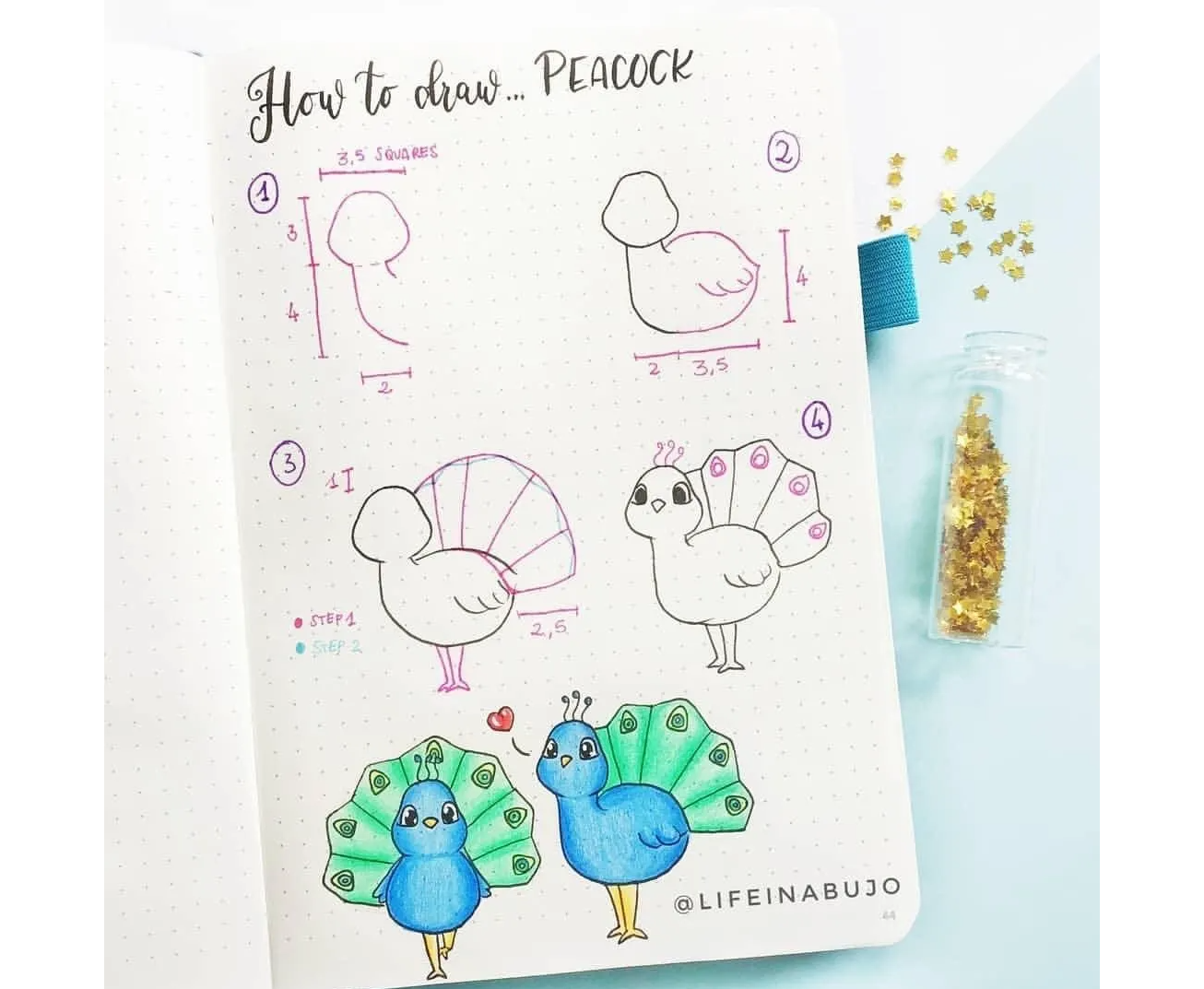 20 Easy + Cute Things to Draw With Step by Step Examples ...