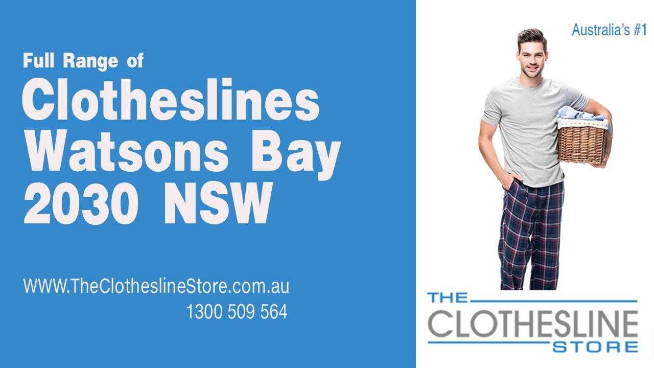 Clotheslines Watsons Bay 2030 NSW