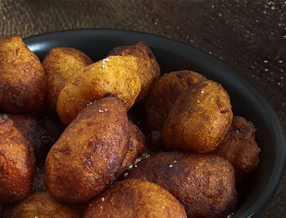Gateau Banane - Mauritian Banana Fritters