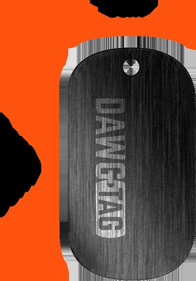 Dawgtag large