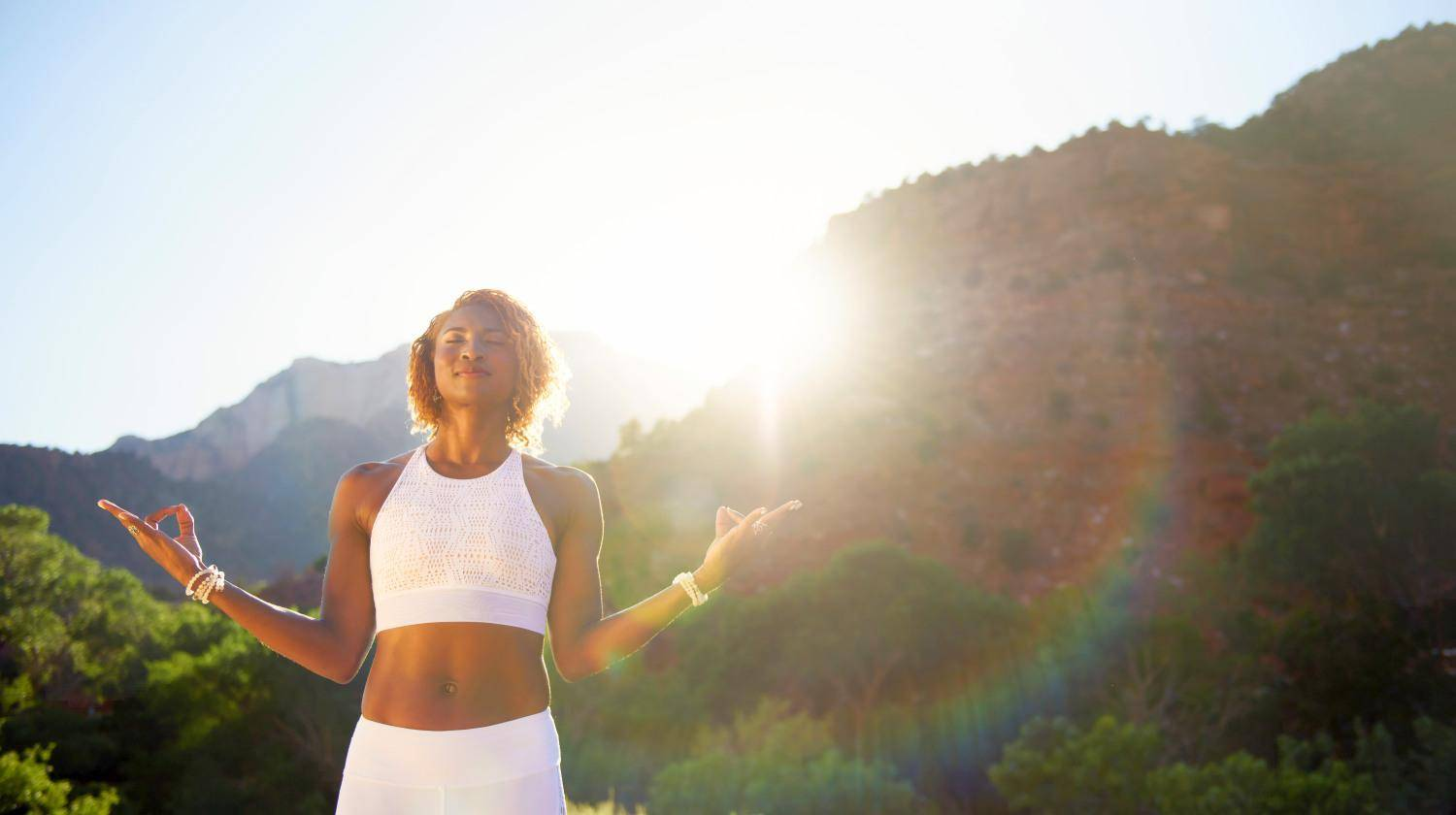 Featured | Koya Webb Meditating | How The Lack of Protein Affects Your Brain and Overall Health