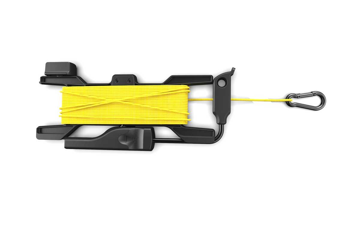 Wiral LITE rope system, Quickreel™