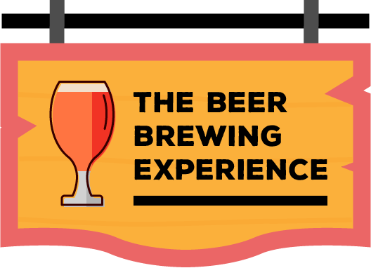 The beer brewing experience button