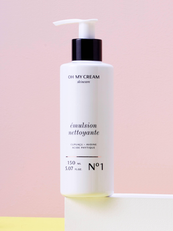 Les nettoyants préférés : Emulsion nettoyante Oh My Cream Skincare