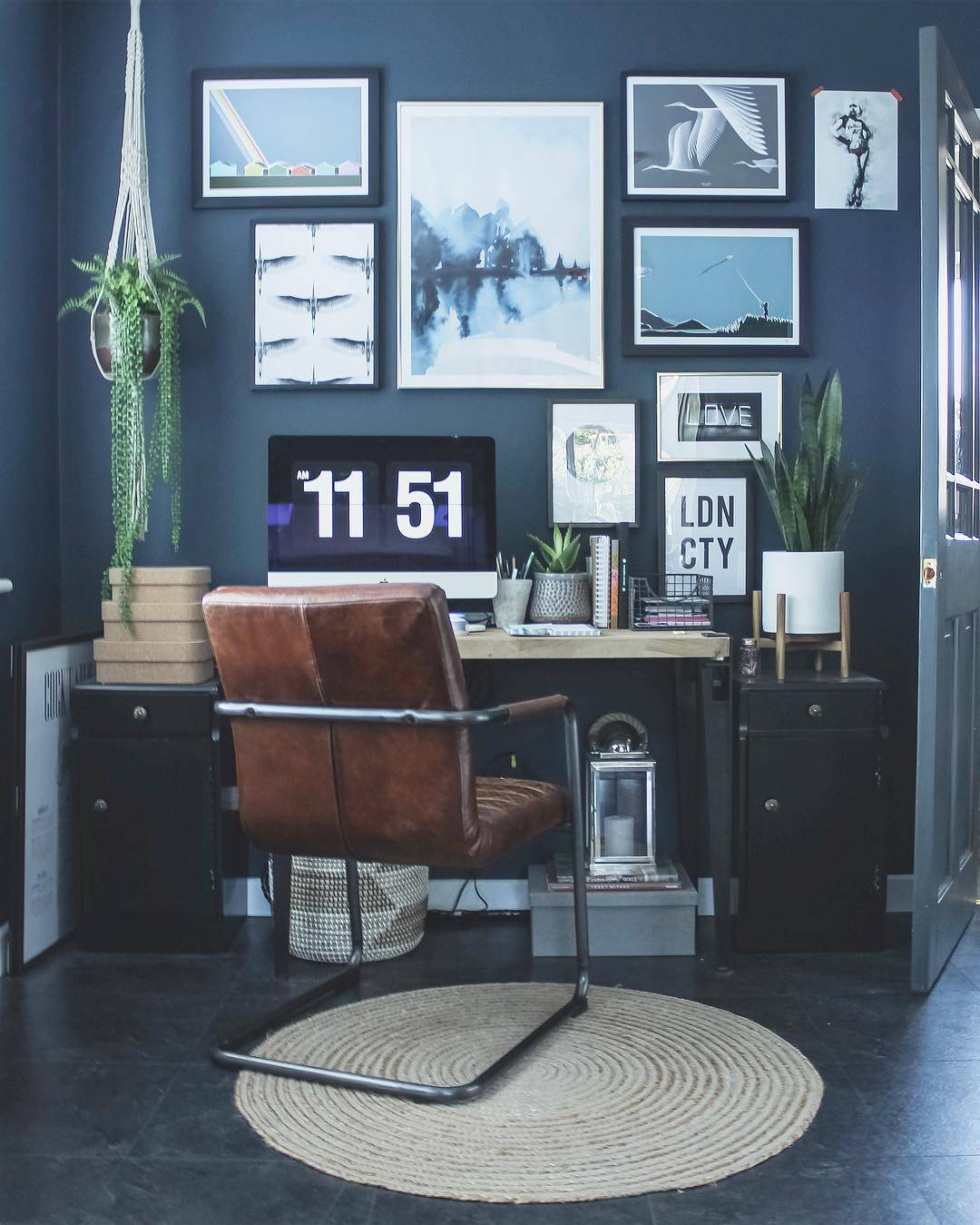 indigo home office
