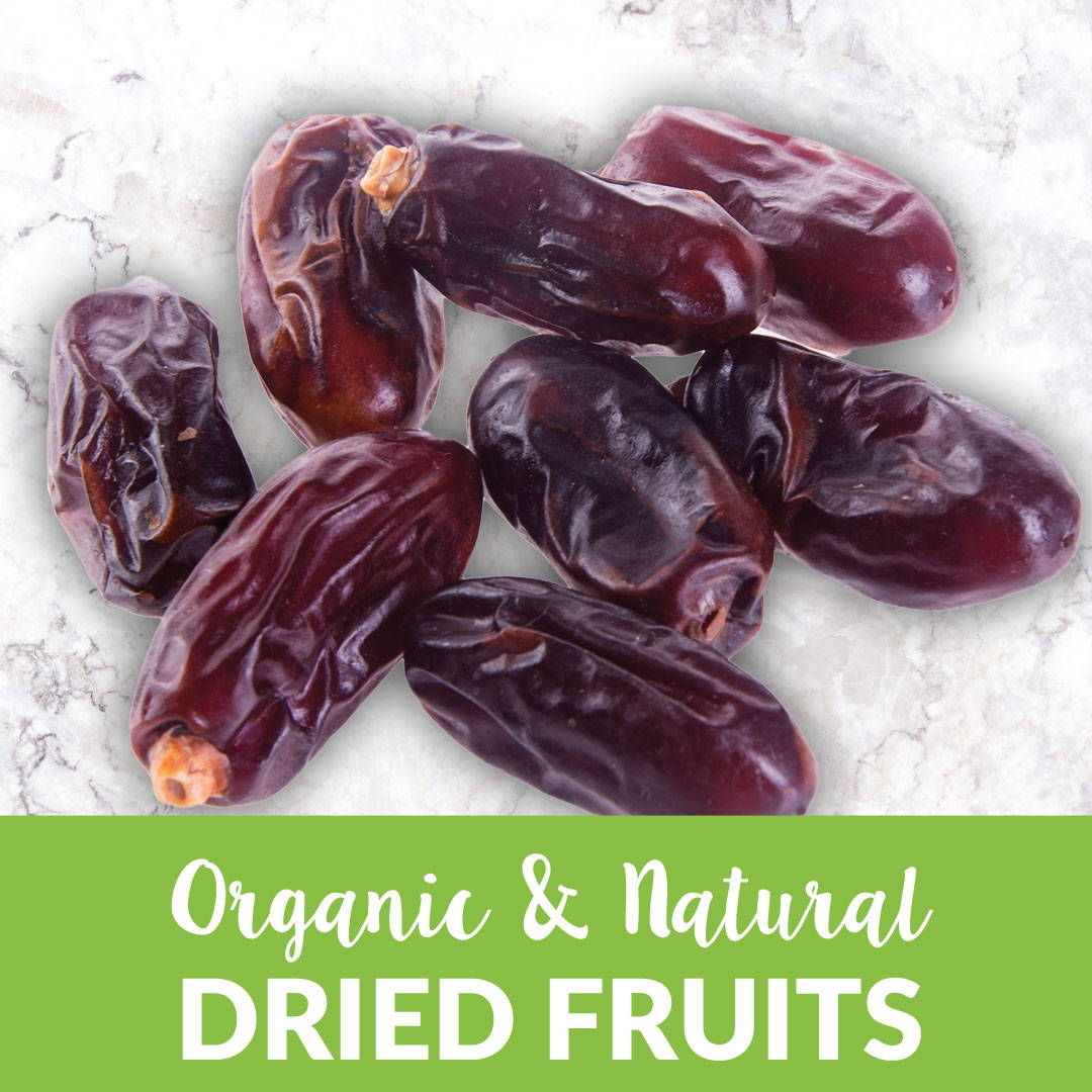Organic dried fruit bulk