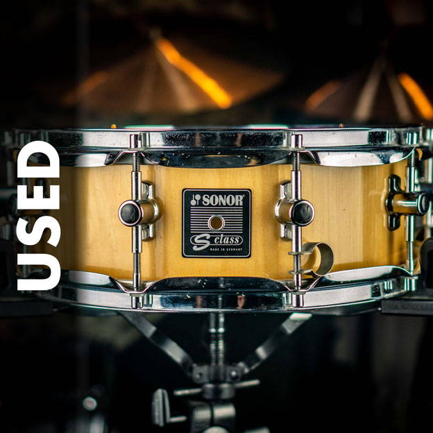 USED SNARE DRUMS