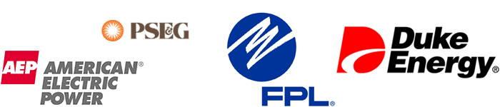 American Electric Power, Duke Energy, Florida Power & Light, Public Service Electric & Gas